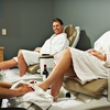 Spa Day for Two with Massage, Manicure, Toenail Polish, Brow Wax, and Hair Style
