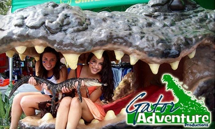 Gator Golf and Adventure Park - Orlando: Mini Golf and More at Gator Golf and Adventure Park. Three Options Available.