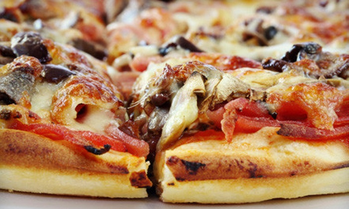 Twisted Tomato - Brandermill: $10 for $20 Worth of Pizza, Calzones, and Grinders at Twisted Tomato in Midlothian