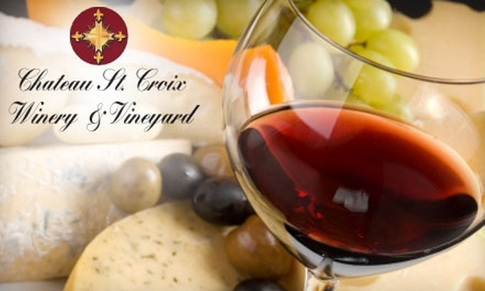 Chateau St. Croix Winery & Vinyard - Saint Croix Falls: $22 for a Couples Wine Trip with Tour & Tastings to Chateau St. Croix Winery