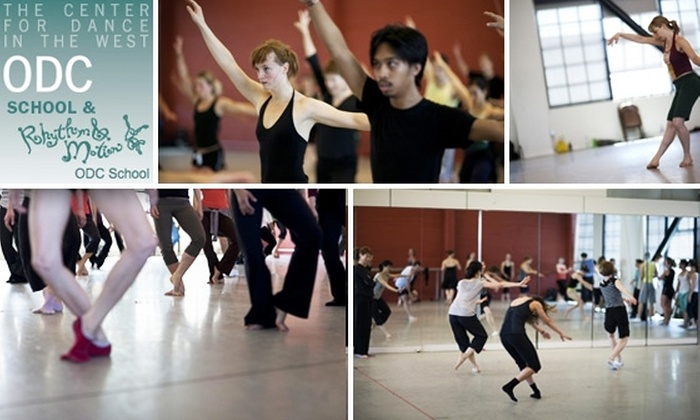 ODC School and Rhythm and Motion Dance Program - Mission: $12 for Two Classes at ODC School and Rhythm and Motion Dance Program ($24 Value)