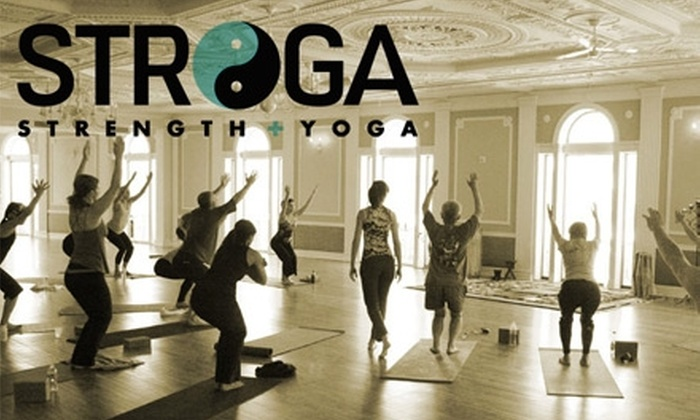 STROGA - Adams Morgan: $39 for One Month of Unlimited Yoga at Stroga ($79 Value)