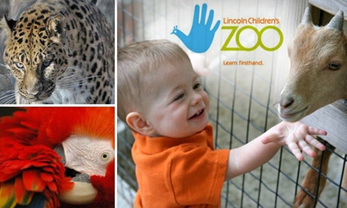 Lincoln Children's Zoo and Botanical Garden - Antelope Park: $3 for One Adult or Child Admission to Lincoln Children's Zoo (Up to $6.50 Value)