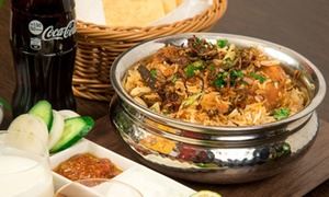 Weng's Kitchen Samrat Restaurant LLC: Combo or Biryani Meal with Soft Drinks for Up to Six at Weng's Kitchen Samrat Restaurant (Up to 52% Off)