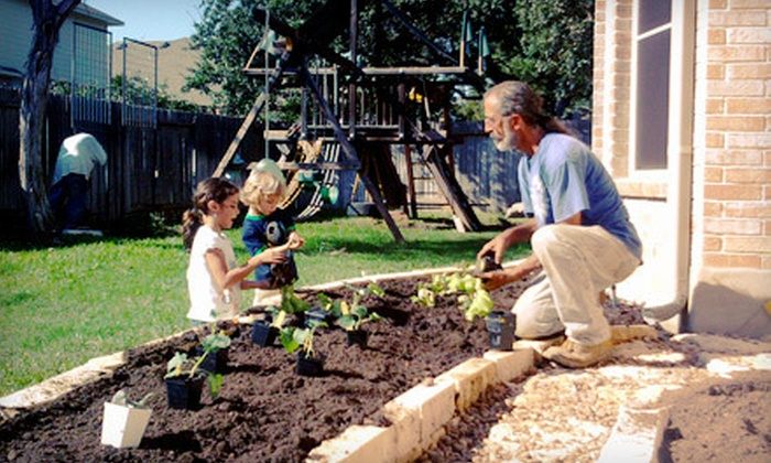 Resolution Gardens - Brentwood: $189 for a 4'x4' Vegetable Garden with Supplies, Delivery, and Installation from Resolution Gardens ($510 Value)