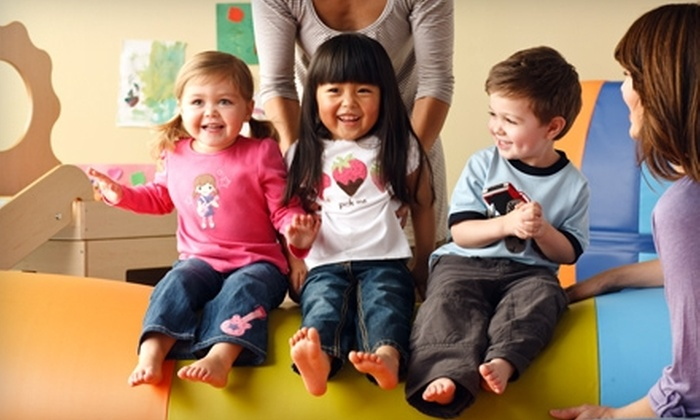 Gymboree Play & Music - Multiple Locations: One-Month Gymboree Play & Music Membership with Waived Initiation Fee at Gymboree Play & Music