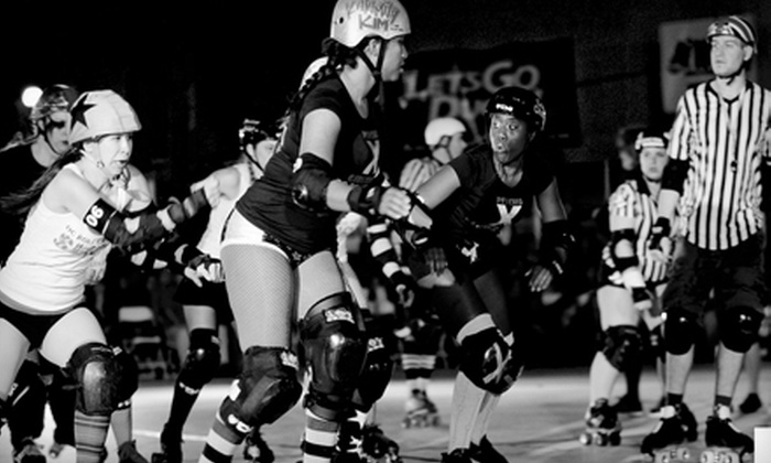 Orange County Roller Girls - Huntington Beach: One Derby Ticket or One Month of Unlimited Skating Classes at OC Roller Girls in Huntington Beach