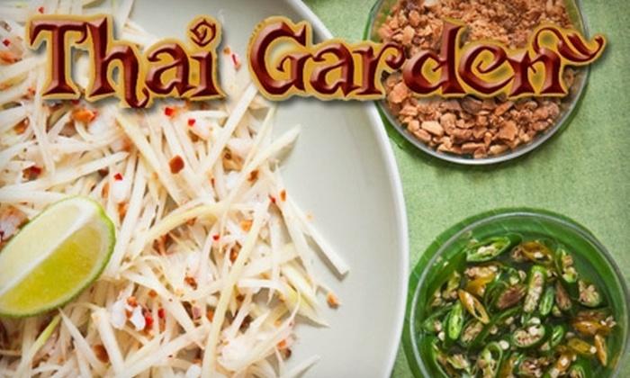 Thai Garden - West Park: $5 for $10 Worth of Thai Cuisine and Drinks at Thai Garden