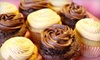 OOB-Sweets by Samantha - Multiple Locations: One-Dozen or Half-Dozen Gourmet Cupcakes at Sweets by Samantha