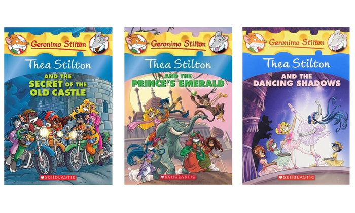 Up To 33 Off 3 Pack Thea Stilton Books