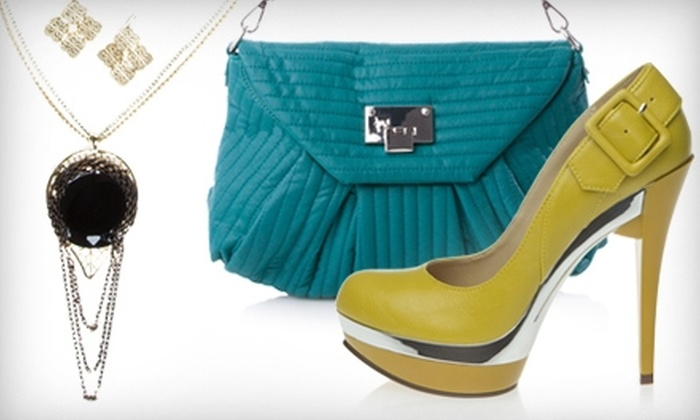 ShoeDazzle: $19 for a Handbag, Jewelry Set, or Pair of Shoes from ShoeDazzle ($39.95 Value)