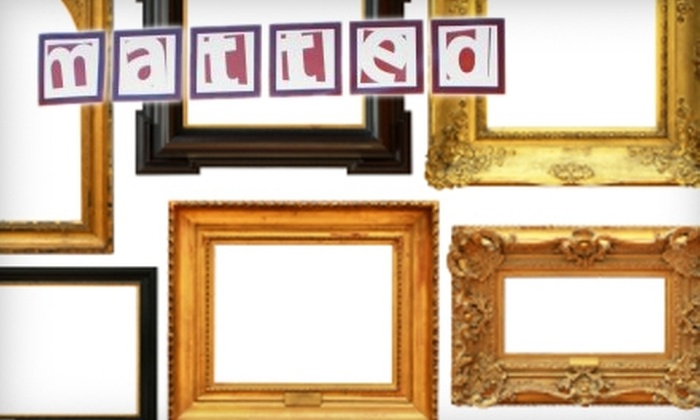 Matted LIC and Frame Art Gallery in Long Island City, New York | Groupon