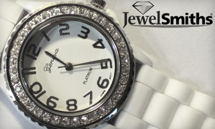 JewelSmiths - Multiple Locations: $15 for a Jelly Watch at JewelSmiths or Alan Gordon Jewelers (OKC) ($30 Value)