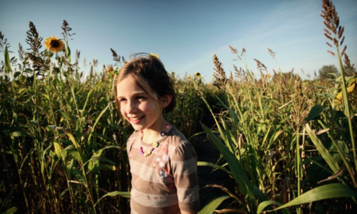 Rural Hill - Huntersville: Corn Maze for One or Four at Rural Hill Amazing Maize Maze (Up to 72% Off)