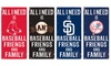 "Fan Creations MLB 12""x 6"" All I Need Sign"