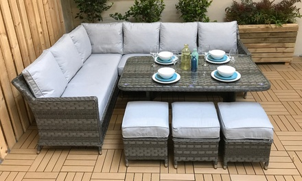 Edda Corner Dining Sofa Set