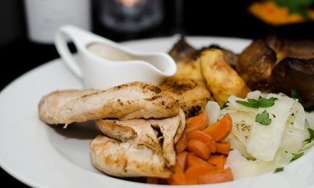 Two-Course Sunday Roast for Two