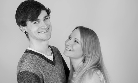 Couples Photoshoot with Three Prints at Sodan Studios (79% Off)