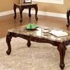 Gallagher Dark-Oak Traditional Table Set (3-Piece)