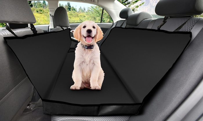 Pet Car Seat Covers >> Pet Hammock Car Seat Cover Groupon
