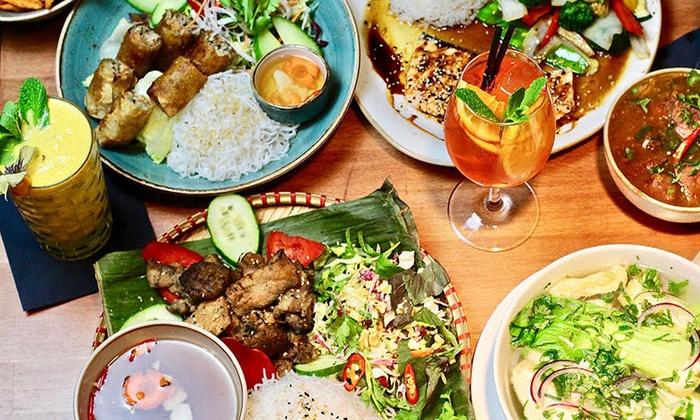 NOORI Fresh Asian Food - Berlin: Vietnamesisches 4-Gänge-Gourmet-Menü für 2 oder 4 Personen bei NOORI Fresh Asian Food (58% sparen*)