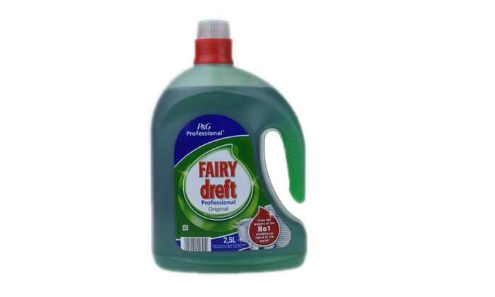 One or Two 2.5L Fairy Dreft Professional OriginalWashing Up Liquids from £6