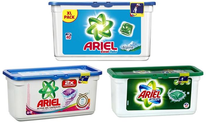 96 à 378 pods de lessive Ariel dès 2690€ (jusquà 69% de rduction)