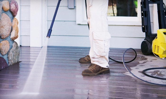 Reflections of Charleston - Charleston: Pressure Washing for a Home up to 2,000 or 2,500 Square Feet from Reflections of Charleston (Up to 57% Off)
