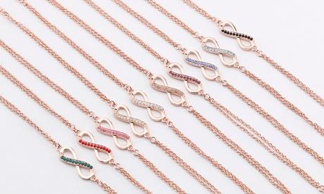 Pulsera, collar y pendientes de Timothy Stone con cristales Swarovski®
