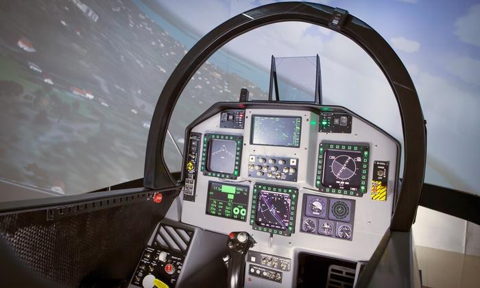 SimLoc Research - SimLoc Research: Experiencia de vuelo en simulador F18 SR Superhornet para 1 o 2 personas desde 29,90 € en SimLoc Research