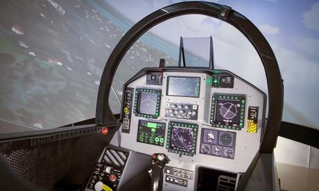 Experiencia de vuelo en simulador F18 SR Superhornet para 1 o 2 personas desde 39,95 € en airpoint.es