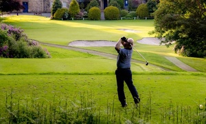 Cawder Golf Club: Round of Golf with Bacon Roll and Tea of Coffee for Two or Four at Cawder Golf Club