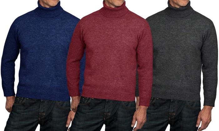 autentica di fabbrica 61115 0e182 Maglione da uomo collo alto | Groupon Goods