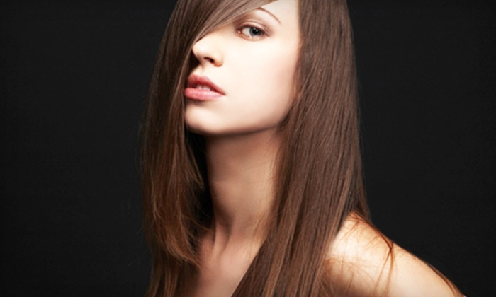 Intrique - Severna Park: Keratin Express Treatment or Cut, Style, and Partial or Full Highlights at Intrique (Up to 69% Off)
