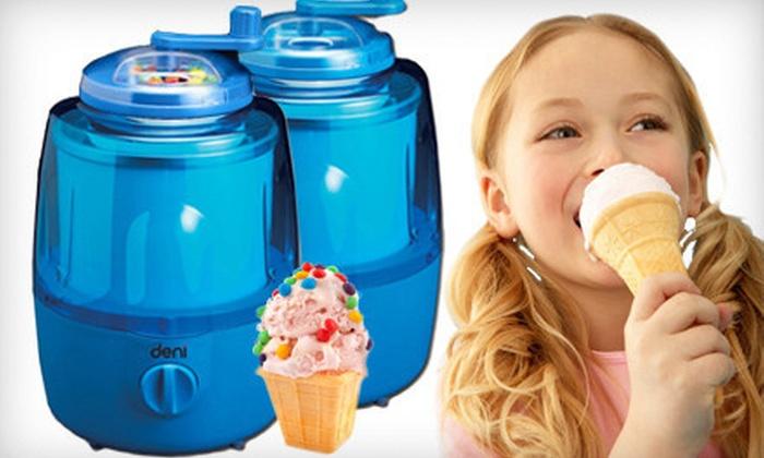 Deni Automatic Ice-Cream Maker: $34 for a Deni Automatic Ice-Cream Maker with Candy Crusher ($69.99 List Price)