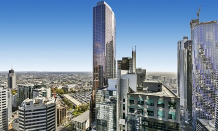 Melbourne: 1 or 2 Nights for Four with Wine on Arrival and Late CheckOut at Serviced Apartments Melbourne Mondo