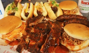Bob Sykes Barbeque Inc: Two or Four Tickets to Sykes BBQ Fest with Bottles of BBQ Sauce from Bob Sykes Barbeque Inc (Up To 72% Off)