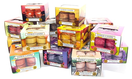 60 Assorted Yankee Candle Tealights
