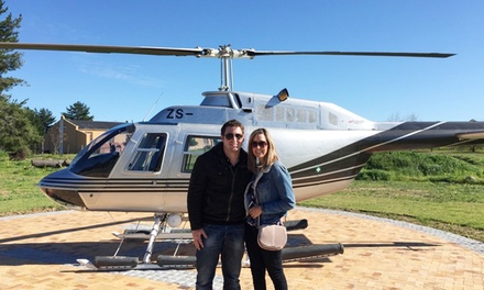 Stellenbosch Helicopter Tour and Wine Tasting for R1375 for Two with Discovery Aviation (61% Off)