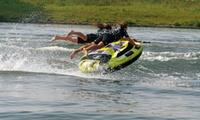 1 tour de bouées tractées, wakeboard, wakesurf ou ski-nautique au choix pour 1, 2, 3 ou 4 dès 25,90 € avec Liceberg Jet