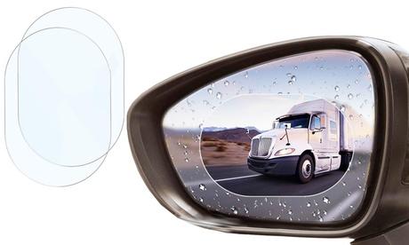 1 o 2 films protectores para espejos retrovisores