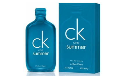 Calvin Klein One Summer Eau de Toilette 100ml Spray 2018 Edition