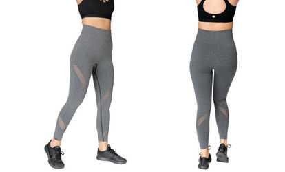 450e794c6a Shop Groupon TEMA Athletics Women's High Waist Leggings—Plus Sizes Available