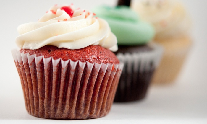 Flirt Cupcakes - Multiple Locations: C$8.99 for One Dozen Pre-Assorted Mini-Cupcakes at Flirt Cupcakes (C$16.95 Value).