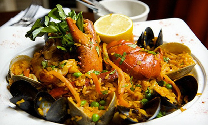 Sazon - Tribeca: Puerto Rican Dinner for Two for Four at Sazon (Up to 53% Off)
