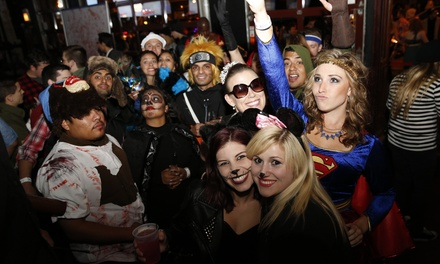 Single-Day Admission to Trick or Drink: Charlotte Halloween Bar Crawl on October 26 or 31 (50% Off)