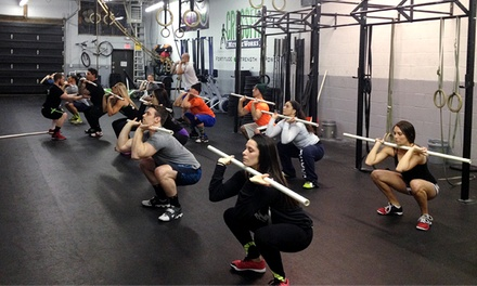 One Month of Beginners CrossFit Classes for One or Two at CrossFit MettleWorks (Up to 69% Off)