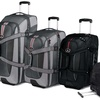 High Sierra Rolling Backpack Carry-on and Wheeled Duffel Bag
