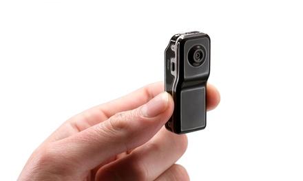 1 ou 2 mini caméras DV MD80 avec 1 carte microSD 16Go en option