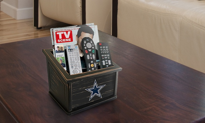 NFL Distressed Media Organizer...